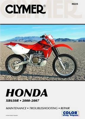 Honda XR650R 2000-2007 (Paperback)