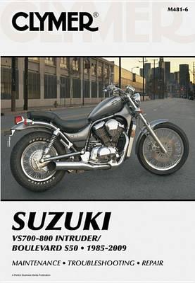 Suzuki Vs700-800 Intruder/Bouleva (Paperback)