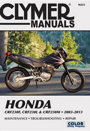 Honda CRf250F, L & M Clymer: 03-13 (Paperback)