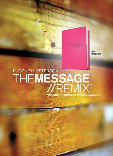 Message Remix 2.0 Bible-MS-Numbered Hypercolor (Hardback)