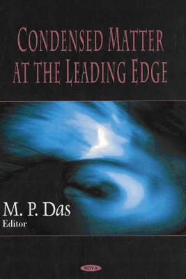 Condensed Matter at the Leading Edge (Hardback)