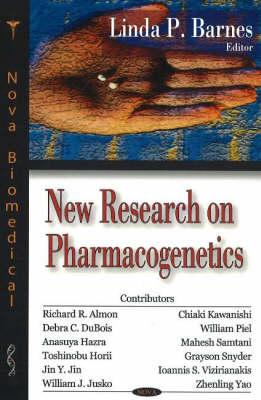 New Research on Pharmacogenetics (Hardback)