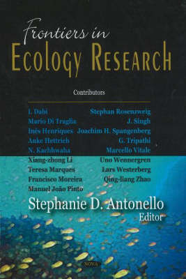 Frontiers in Ecology Research (Hardback)