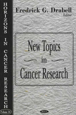 New Topics in Cancer Research (Hardback)