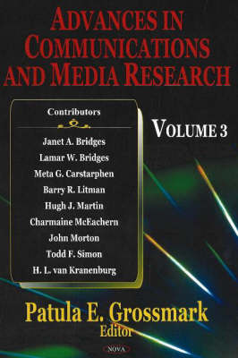 Advances in Communications & Media Research: Volume 3 (Hardback)