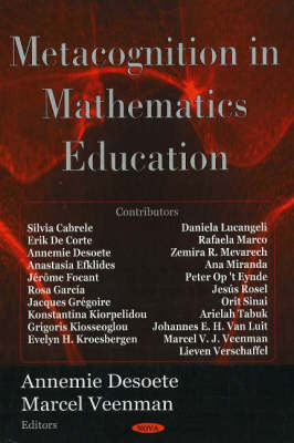 Metacognition in Mathematics Education (Hardback)