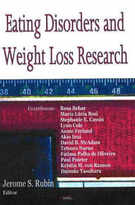 Eating Disorders & Weight Loss Research (Hardback)