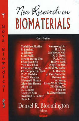 New Research on Biomaterials (Hardback)