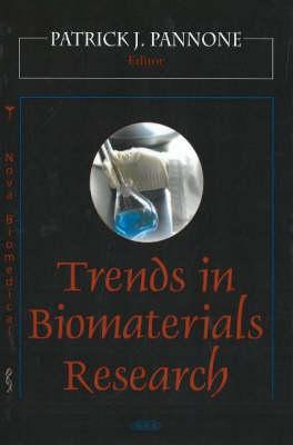 Trends in Biomaterials Research (Hardback)