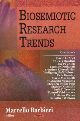 Biosemiotic Research Trends (Hardback)
