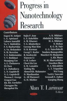 Progress in Nanotechnology Research (Hardback)