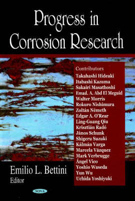 Progress in Corrosion Research (Hardback)