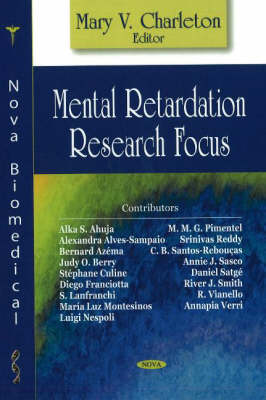 Mental Retardation Research Focus (Hardback)