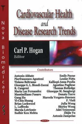 Cardiovascular Health & Disease Research Trends (Hardback)