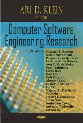Computer Software Engineering Research (Hardback)