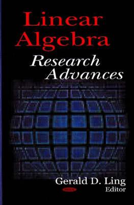 Linear Algebra Research Advances (Hardback)