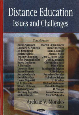 Distance Education: Issues & Challenges (Hardback)