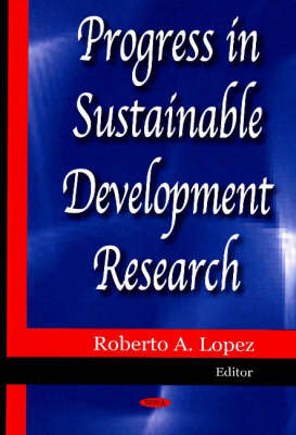 Progress in Sustainable Development Research (Hardback)