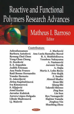 Reactive & Functional Polymers Research Advances (Hardback)