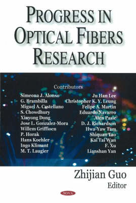 Progress in Optical Fibers Research (Hardback)