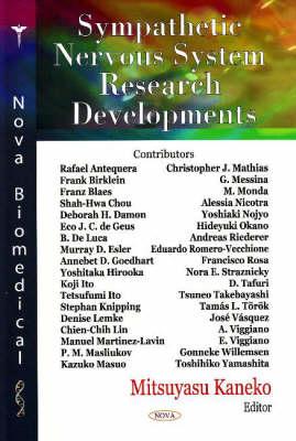 Sympathetic Nervous System Research Developments (Hardback)