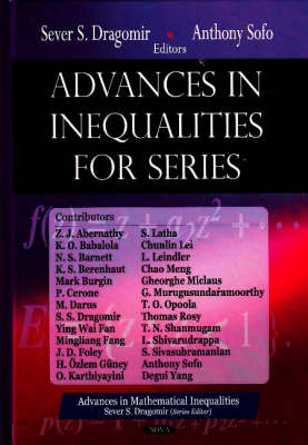 Advances in Inequalities for Series (Hardback)