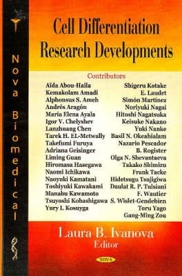 Cell Differentiation Research Developments (Hardback)