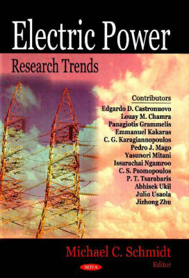 Electric Power Research Trends (Hardback)
