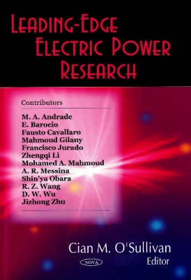 Leading-Edge Electric Power Research (Hardback)