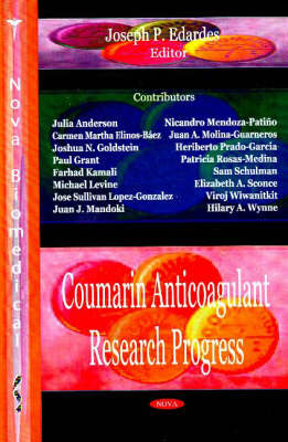 Coumarin Anticoagulant Research Progress (Hardback)