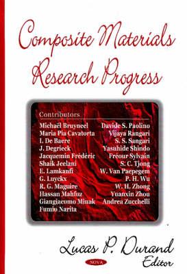 Composite Materials Research Progress (Hardback)