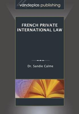 French Private International Law (Paperback)