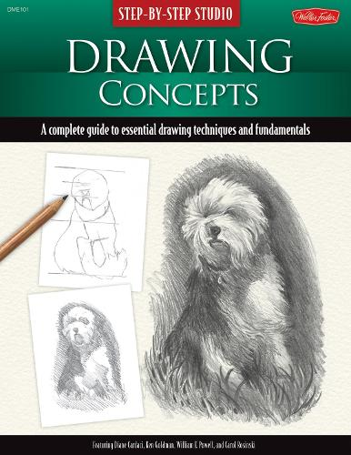 Step-By-Step Studio: Drawing Concepts: A Complete Guide to Essential Drawing Techniques and Fundamentals (Paperback)