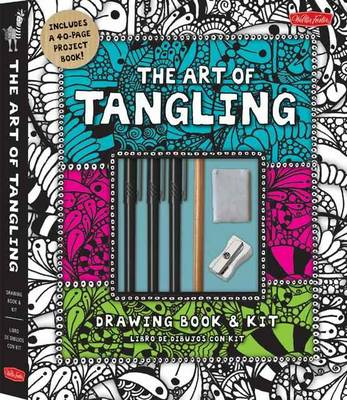 The Art of Tangling Drawing Book & Kit: Inspiring Drawings, Designs & Ideas for the Meditative Artist (Paperback)