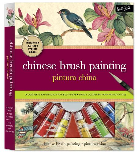 Chinese Brush Painting Kit: A Complete Painting Kit for Beginners (Paperback)