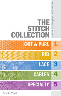 The Stitch Collection: A Box of Portable Guides to Knit Stitches (Paperback)