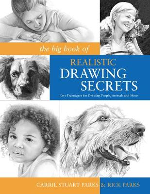 The Big Book of Realistic Drawing Secrets: Easy Techniques for Drawing People, Animals, Flowers and Nature (Paperback)