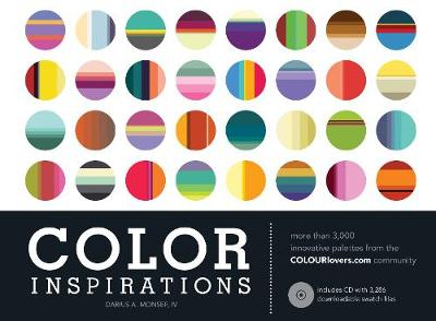 Color Inspirations: More than 3,000 Innovative Palettes from the Colourlovers.Com Community (Paperback)