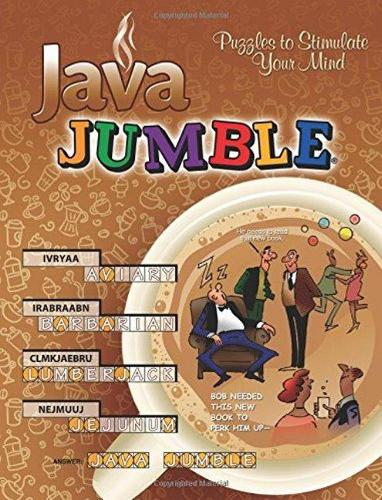 Java Jumble (R): Puzzles to Stimulate Your Mind (Paperback)