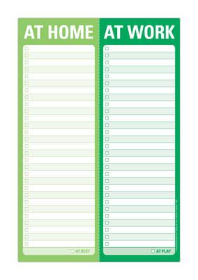Knock Knock at Home / at Work Perforated Pad - Perforated Pad