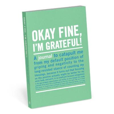 Knock Knock Okay Fine, I`m Grateful Mini Inner Truth Journal - Mini Inner-Truth Journal