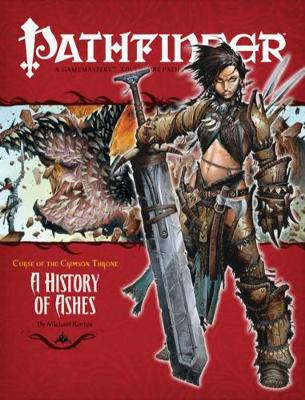 Pathfinder #10 Curse Of The Crimson Throne: A History Of Ashes (Paperback)