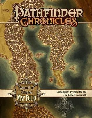 Pathfinder Chronicles: Council of Thieves Map Folio (Paperback)