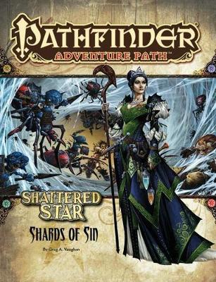 Pathfinder Adventure Path: Shattered Star Part 1 - Shards of Sin (Paperback)