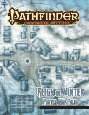 Pathfinder Campaign Setting: Reign of Winter Poster Map Folio (Paperback)