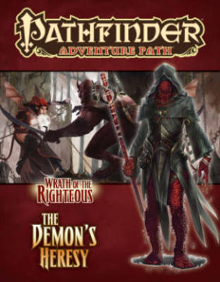 Pathfinder Adventure Path: Wrath of the Righteous Part 3 - Demon's Heresy (Paperback)