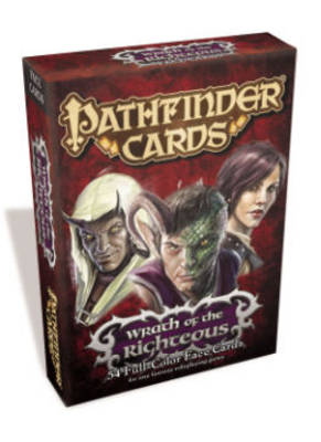 Pathfinder Cards: Wrath of the Righteous Face Cards Deck