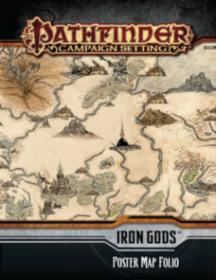 Pathfinder Campaign Setting: Iron Gods Poster Map Folio (Paperback)