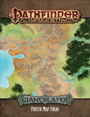 Pathfinder Campaign Setting: Giantslayer Poster Map Folio (Paperback)