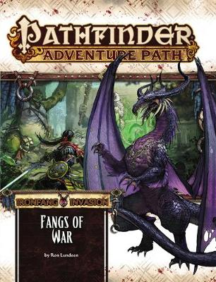 Pathfinder Adventure Path: Ironfang Invasion Part 2 of 6-Fangs of War (Paperback)